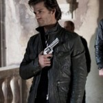 Ray Carrigan Ghost Rider Black Leather Jacket