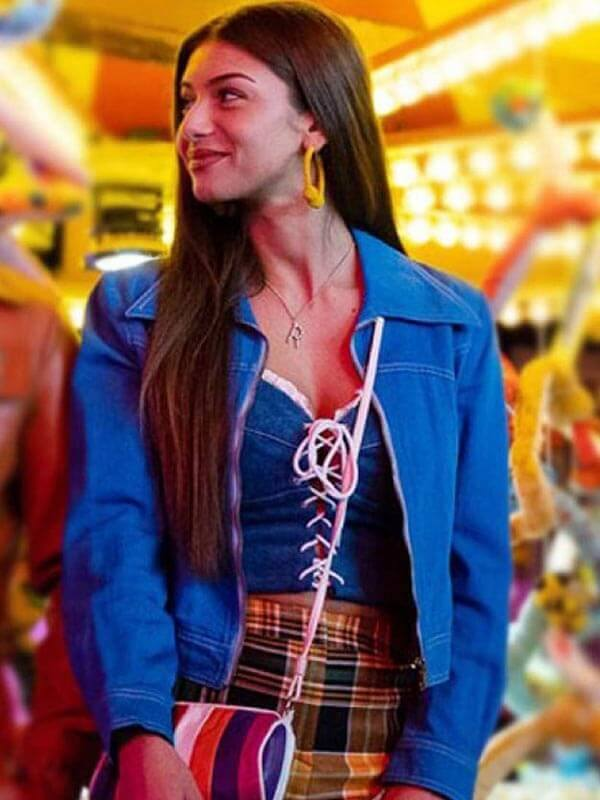 Ruby Matthews Sex Education Blue Jacket