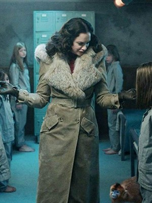 Tv Series His Dark Materials Mrs Coulter Fur Coat