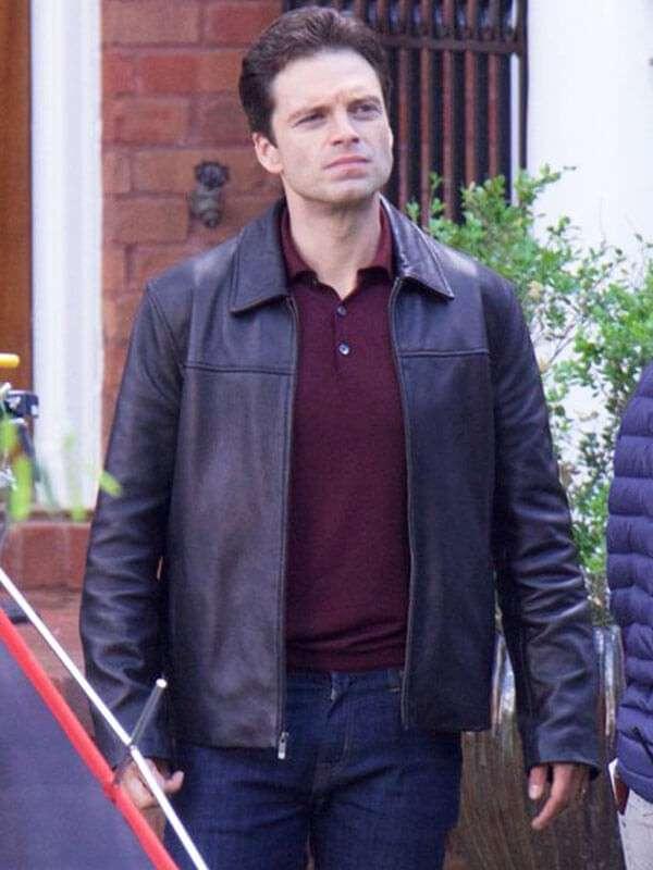 Sebastian Stan The Last Full Measure Black Jacket