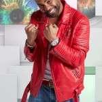 Singer Ginuwine Studded Jacket