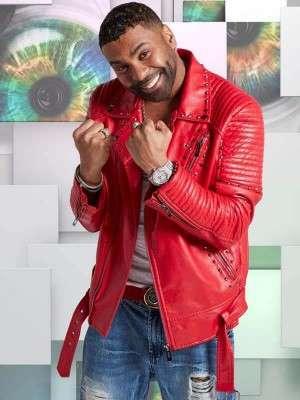 Ginuwine Studded Red Jacket