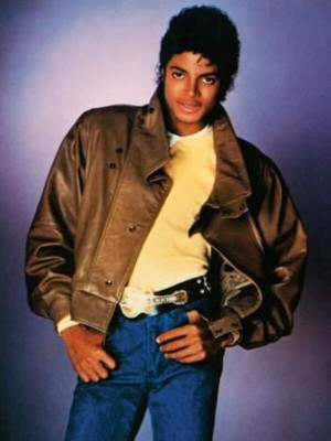 Michael Jackson Brown Leather Jacket