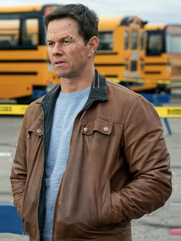 Spenser Confidential Mark Wahlberg Brown Jacket