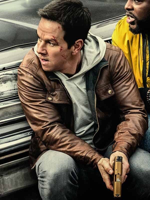 Spenser Confidential Spenser Mark Wahlberg Leather Jacket