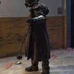 TV Series Daybreak Michael Burr Distressed Leather Coat