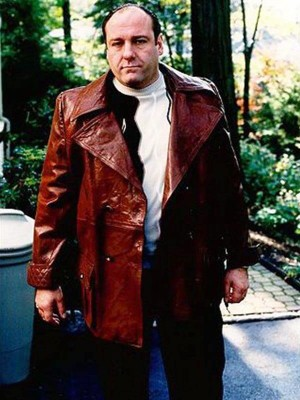 Tony Soprano TV Series The Sopranos Leather Coat