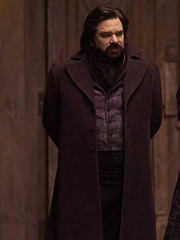 TV Series What We Do in the Shadows Trench Coat