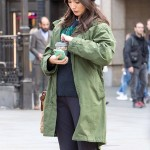 The Eternals Gemma Chan Green Coat