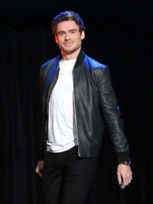 Richard Madden The Eternals Premier Leather Jacket