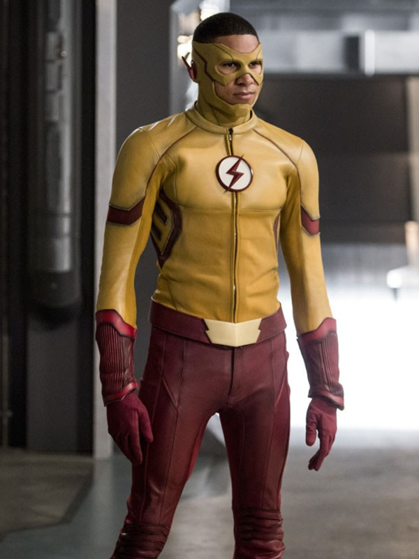The Flash Wally West Leather Jacket
