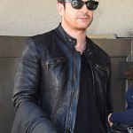The Host Dylan McDermott Black Leather Jacket for Mens