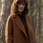 The Stranger Johanna Griffin Brown Wool-Blend Jacket