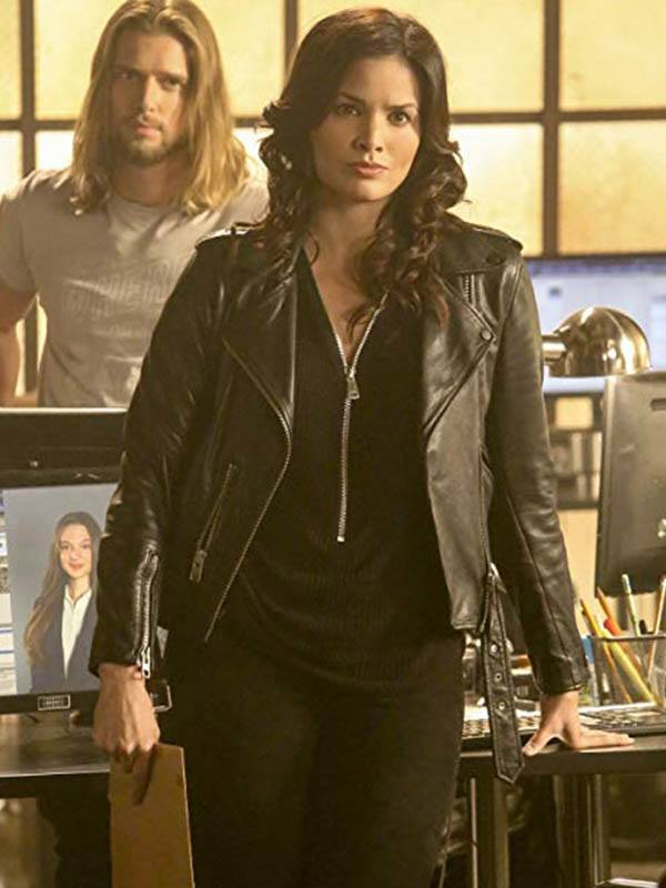 Training Day Katrina Law Leather Jacket