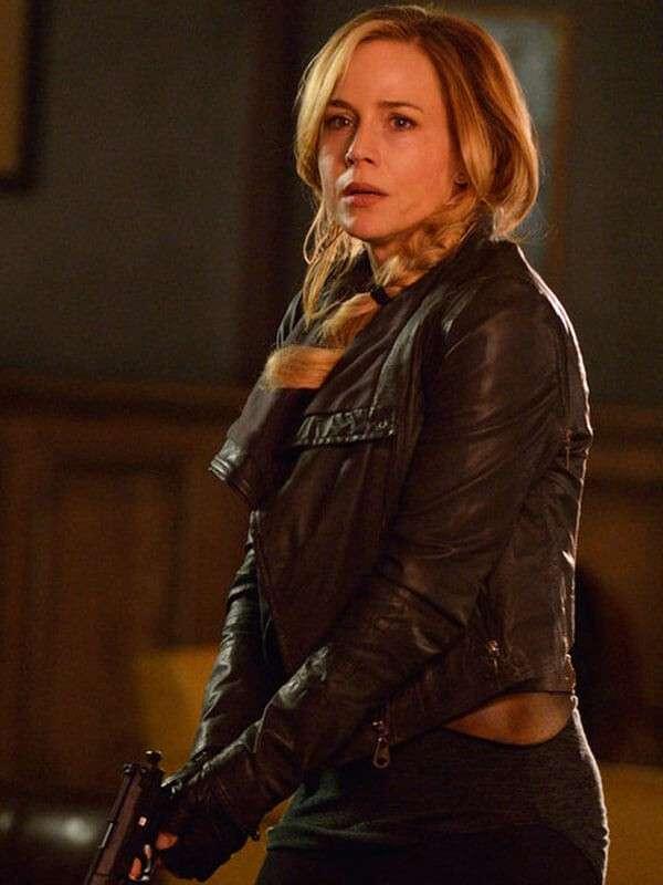 Tv Series Defiance Julie Benz Leather Jacket
