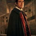 Tv Series Dracula Claes Bang Wool Blend Cape