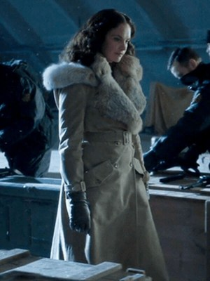 His Dark Materials Mrs Coulter Shearling Coat