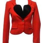 Vivienne Valentine Special Red Blazer