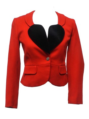 The Vivienne Red Valentine's Day Blazer