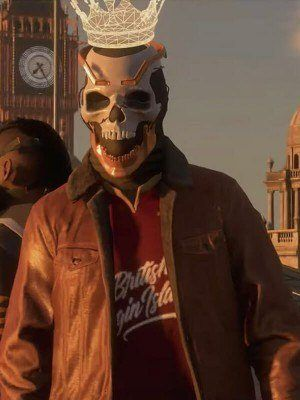 Watch Dogs Legion Leather Jacket