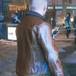 Watch Dogs 3 Shearling Fur Leather Jacket