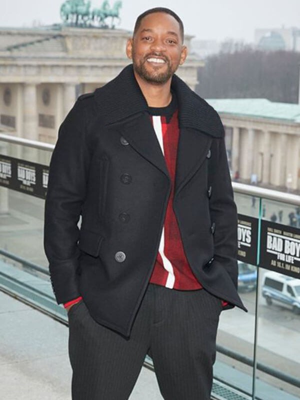 Will Smith Bad Boys For Life Event Wool Coat
