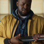 Winston Duke Spenser Confidential Yellow Bomber Jacket