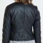 Women Neon Quilted Jacket