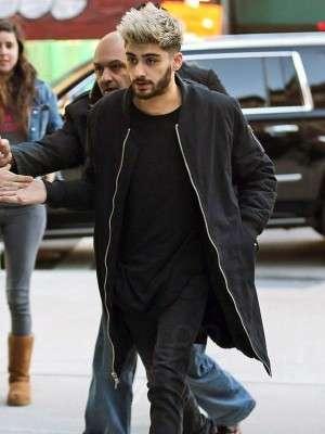Singer Zayn Malik NYC Trench Coat