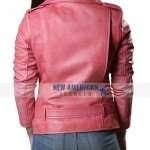 Gwen Stefani Pink Leather Jacket