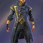 Alok Video Game Free Fire Battlegrounds Coat