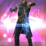 Alok Video Game Free Fire Battlegrounds Garena Leather Coat