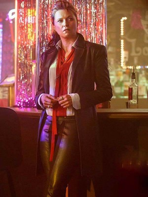 Lucy Lawless Ash vs Evil Dead Series Leather Coat