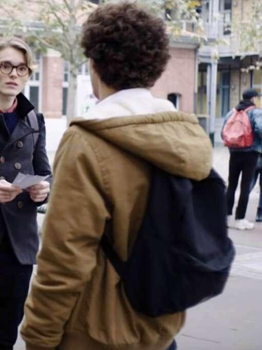 Basile Tv Series Skam France Brown Cotton Jacket
