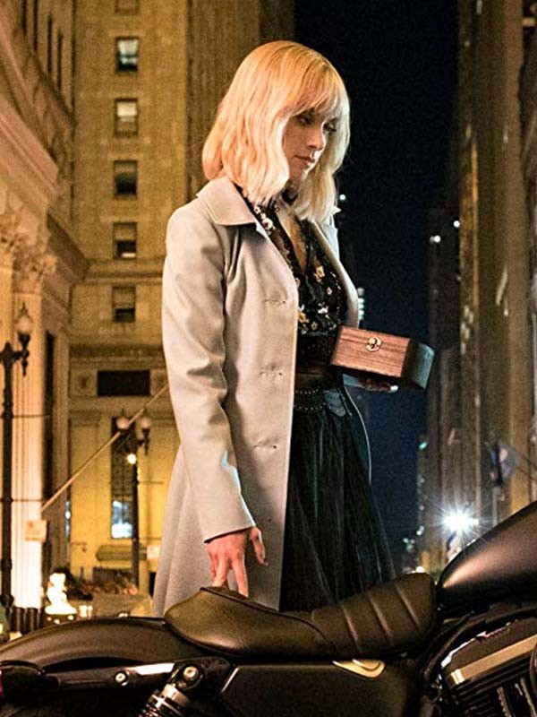 Batwoman Movie Alice White Trench Coat