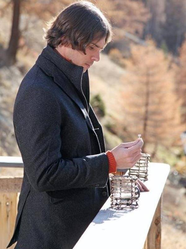 Ben Flajnik Tv Series The Bachelor Black Wool Coat