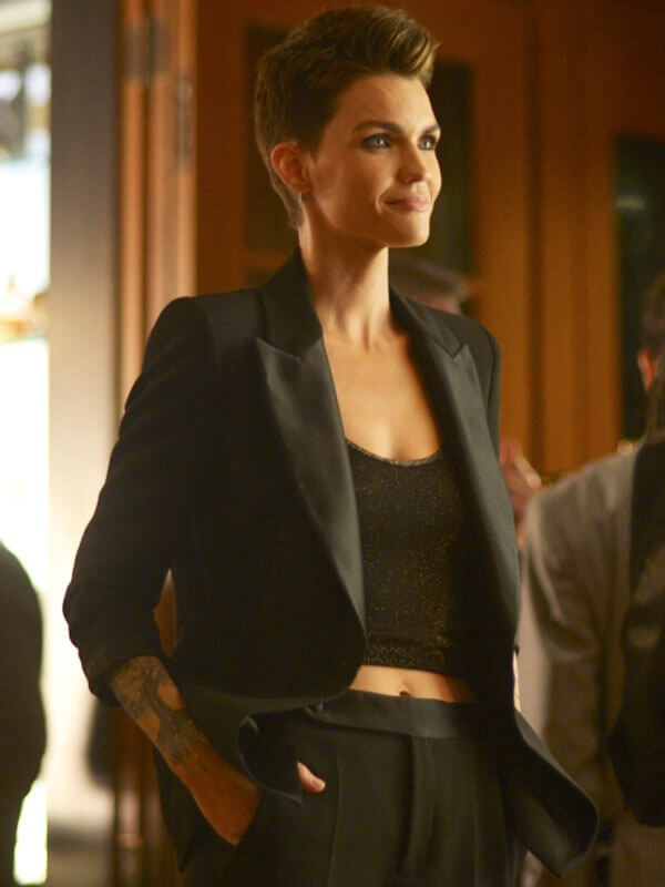Black Blazer worn by Ruby Rose in Batwoman Tv Series