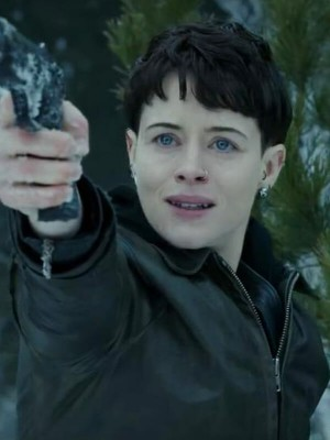 Claire Foy The Girl in the Spiders Web Lisbeth Salander Jacket