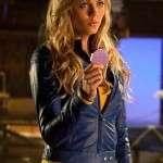 Blue Leather Jacket worn by Kara Danvers in Supergirl