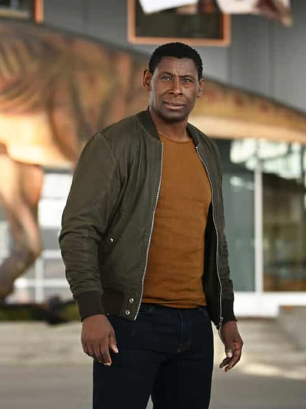 Bomber Green Jacket Worn by David Harewood in TV Series Supergirl