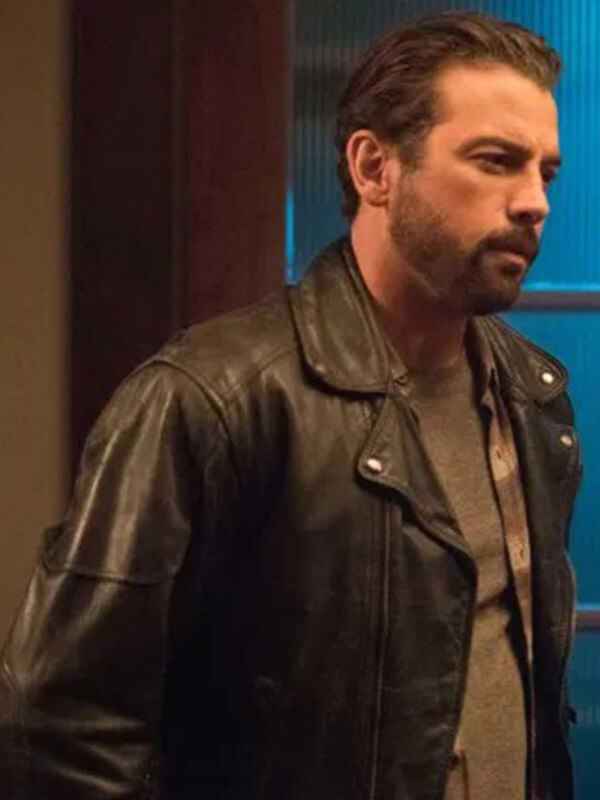 Brando Style Biker Jacket Worn by Skeet Ulrich in Tv Series Riverdale