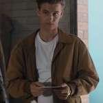 Brown Bomber Jacket Worn by Dean Zeta in Movie GO