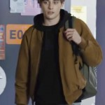 Brown Jacket worn by Eliott in Skam France Season 3