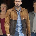 Brown Suede Leather Jacket Worn by Sean Teale in Tv series The Gifted