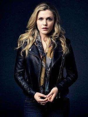 Harriet Dyer The InBetween Motorcycle Leather Jacket