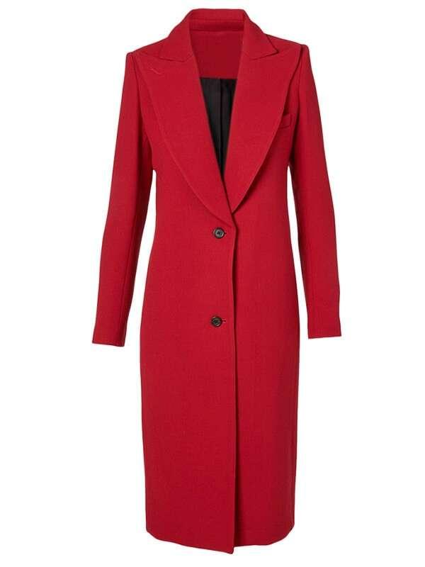 Catherine Hamilton-Kane Batwoman Red Trench Coat