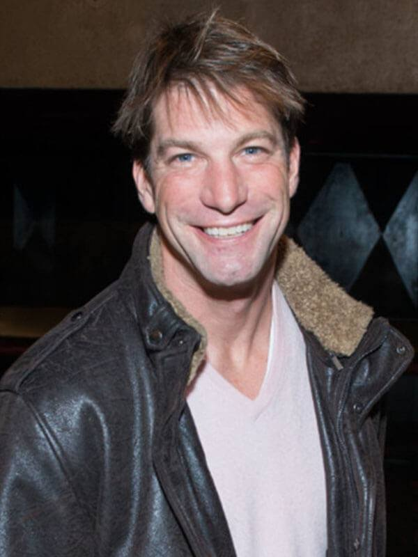 Charlie O'Connell The Bachelor Series Shearling Brown Leather Jacket