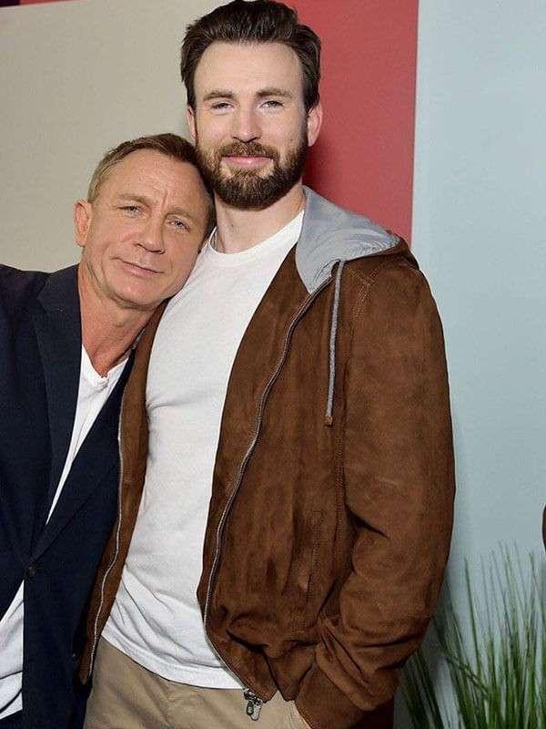 Chris Evans & Daniel Craig Buddy Up at TIFF 2019 Outfits