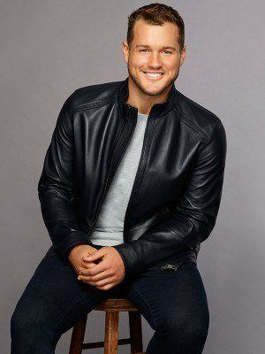 The Bachelor Black Leather Colton Jacket