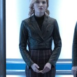 Cropped Jacket Worn by Phoebe Frost in Tv Series The Gifted